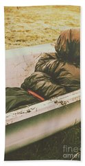 Old Country Horrors Bath Towel by Jorgo Photography - Wall Art Gallery