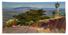 Old Cypress Near Temecula Hand Towel