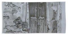 Old Doors 3 Hand Towel