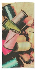 Old Fashion Threads Bath Towel