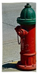 Old Fire Hydrant Hand Towel