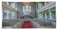 Old First Church Interior Bath Towel