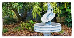 Old Fountain Hand Towel