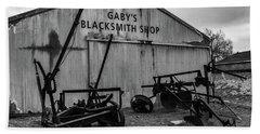 Old Frisco Blacksmith Shop Hand Towel