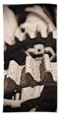 Old Gears Hand Towel by Tim Good