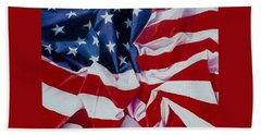 Old Glory  1 Hand Towel