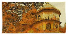 Old Greek Orthodox Church In Poland Bath Towel