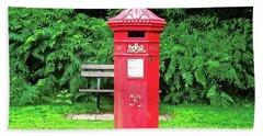 Old Irish Mailbox Bath Towel