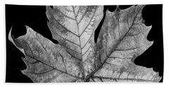 Leaf Litter Bath Towels