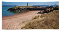 Old Llanddwyn Lighthouse Hand Towel