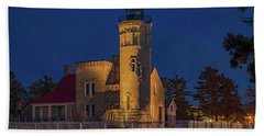 Old Mackinac Point Lighthouse Hand Towel