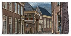Old Meets New In Zwolle Hand Towel