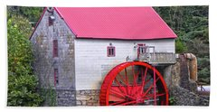 Old Mill Of Guilford Squared Bath Towel by Sandi OReilly