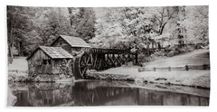 Old Mill On The Mountain Bath Towel