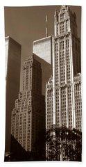 Old New York Photo - Woolworth Building Bath Towel