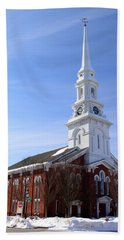 Old North Church, Portsmouth Hand Towel