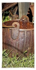 Old Ore Bucket Hand Towel by Phyllis Denton