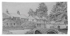 Old Packhorse Bridge Wycoller Bath Towel