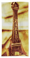 Old Paris Decor Bath Towel by Jorgo Photography - Wall Art Gallery