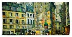 Old Paris Bath Towel