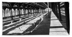 Old Railway Lines Of Jersey  Bath Towel