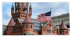 Old Red Courthouse Hand Towel