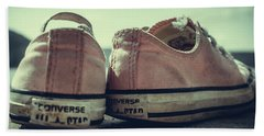 Old Shoes Hand Towel