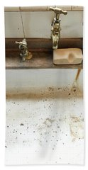 Old Sink Bath Towel
