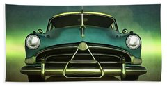 Old-timer Hudson Hornet Bath Towel