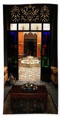 Old Traditional Riad In Fez Bath Towel
