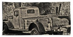 Old Truck Hand Towel