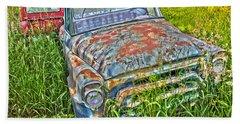001 - Old Trucks Hand Towel