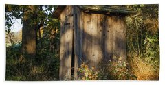 Old Valley Forge Outhouse Hand Towel