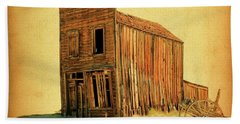 Hand Towel featuring the photograph Old West by Steve McKinzie