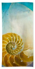 Old World Treasures - Nautilus Hand Towel by Colleen Kammerer