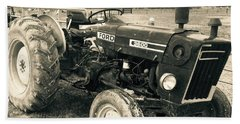 Ole' Country Tractor Bath Towel