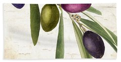 Olive Branch Hand Towel