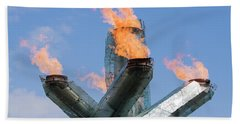 Olympic Cauldron Bath Towel