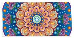Om Mandala Bath Towel