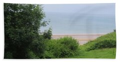 Omaha Beach At Peace Bath Towel