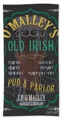 O'malley's Old Irish Pub Hand Towel