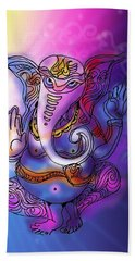 Omkareshvar Ganesha Bath Towel