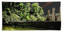 Hand Towel featuring the photograph On Golden Pond by Bill Swartwout Fine Art Photography
