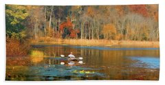 On Golden Pond Hand Towel