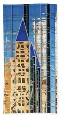 On Reflection Hand Towel by Neil Shapiro