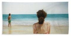 On The Beach Hand Towel