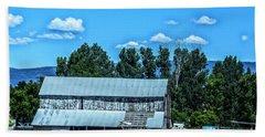 On The Farm Hand Towel by Billie-Jo Miller