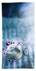 On The Ice Hand Towel