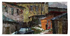 On The Outskirts Of Borovsk Bath Towel