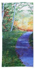 On The Path Hand Towel